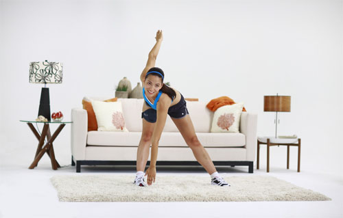 exercices pilates à la maison