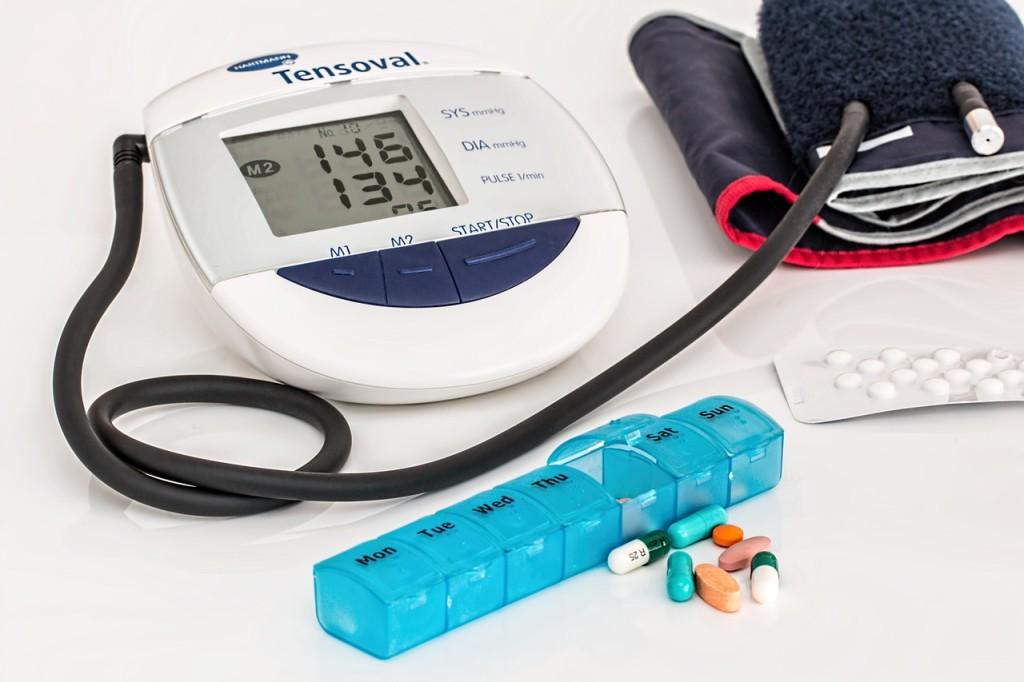 myrtille réduction hypertension