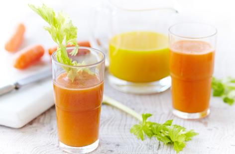 jus de légumes pour maigrir orange carotte celeri