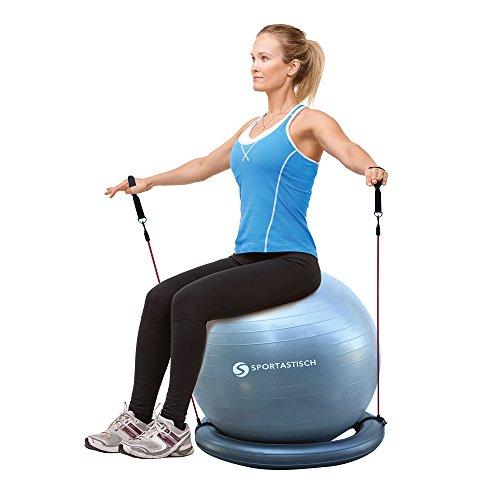 9 exercices pour se muscler les abdos avec un ballon de gym. Black Bedroom Furniture Sets. Home Design Ideas