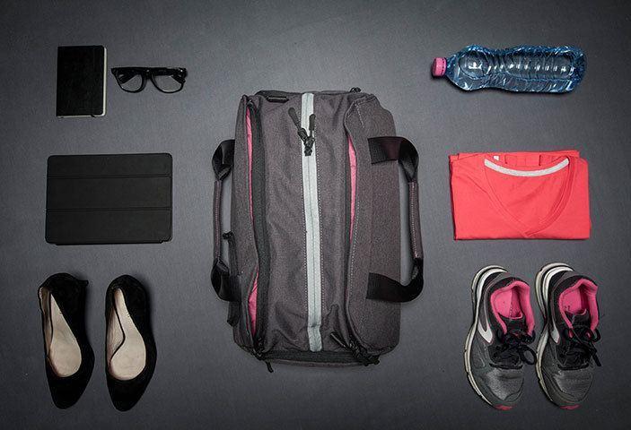 sac de sport avec compartiment chaussures